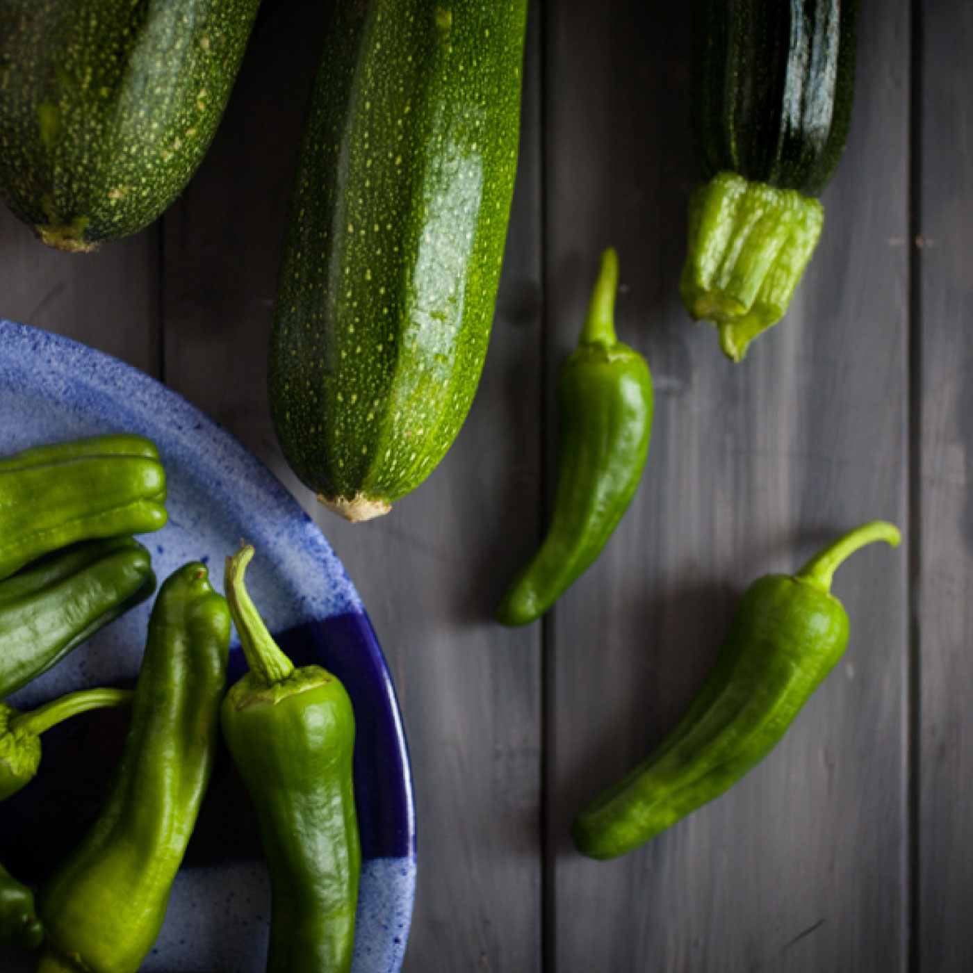 Courgettes & Peppers